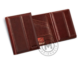 Leather portfolio with planner A4, 805