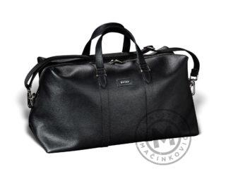 Leather travel bag, 440