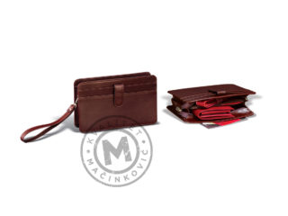 Men's leather handbag, 403