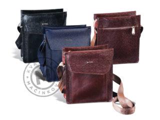 Men's leather shoulder bag, 1202