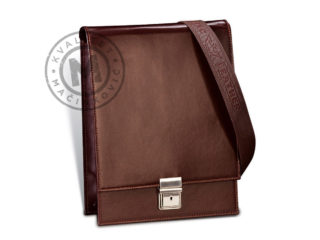 Men's leather shoulder bag, 429