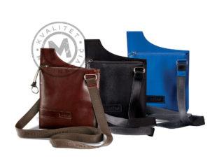 Men's leather shoulder bag, 430