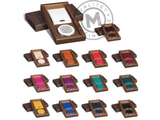 Set mirror and etui in a gift box, 880