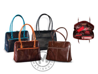Women's leather purse, 422