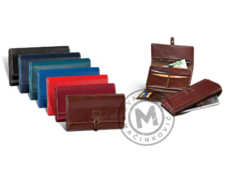 Women's leather wallet, 390