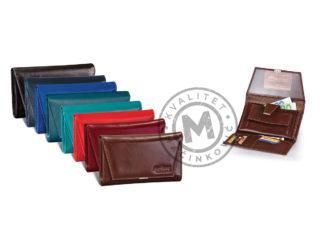 Women's leather wallet, 391