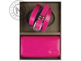 Women's set wallet and belt, 884