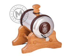Barrel for brandy with stand, 526