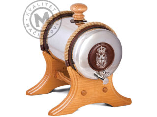 Barrel for brandy with stand 6L, 531