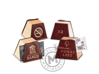 Check holder for restaurants, 975