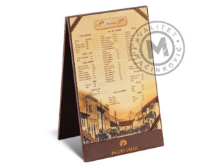 Daily special menu holder, 9002