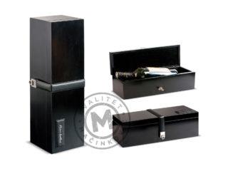Elegant gift box for bottle, 554