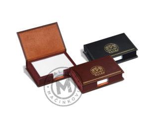 Kožna kutija za papiriće – beleške, 614