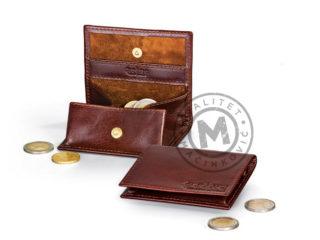 Kožni novčanik za sitninu, 387