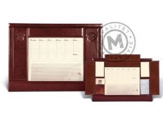 Leather desk pad, 503