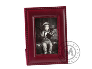 Leather desktop photo frame, 520