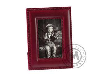 Leather desktop photo frame, 520