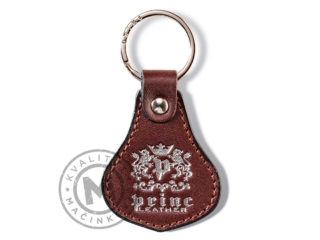 Leather key ring, 9102