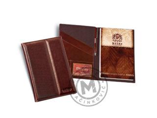 Leather portfolio B5, 802
