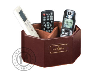 Leather remote control holder, 560