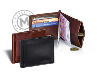 Leather wallet, 382