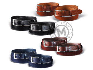 Men's leather belt, 215