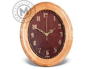 Oval wall clock, 516