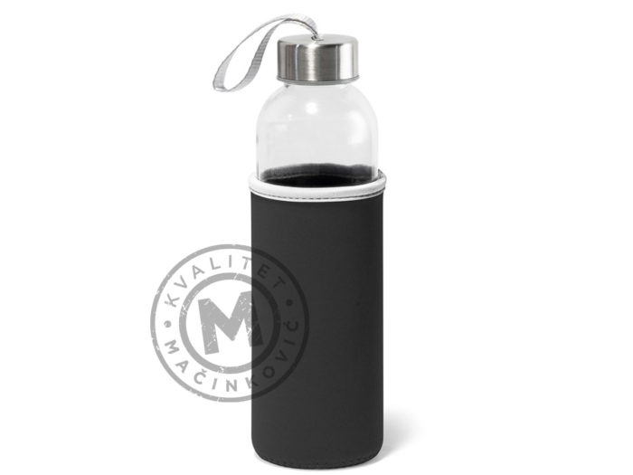 plastic-sport-bottle-with-soft-shell-pouch-raise-black