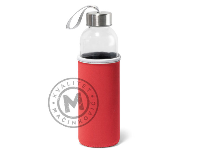 plastic-sport-bottle-with-soft-shell-pouch-raise-red
