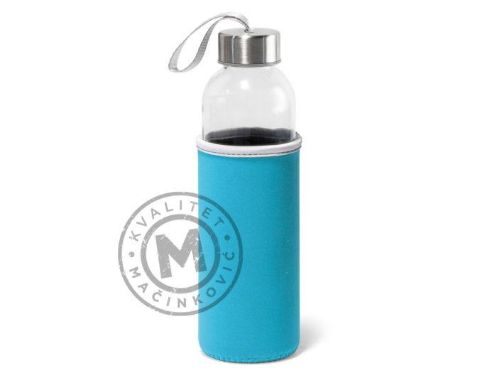 plasticna-sportska-boca-sa-soft-shell-navlakom-raise-svetlo-plava