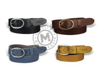 Women's leather belt, 213
