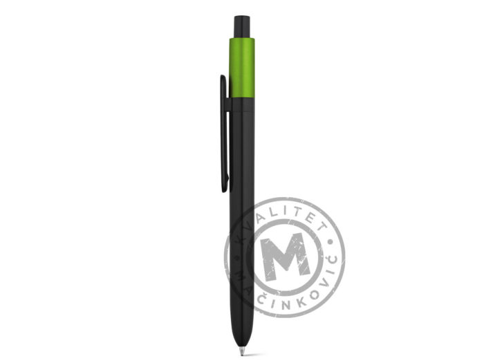 abs-ball-pen-with-glossy-finish-kiwu-metallic-light-green