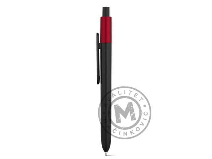 abs-ball-pen-with-glossy-finish-kiwu-metallic-red