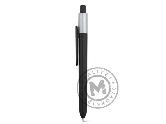 abs-ball-pen-with-glossy-finish-kiwu-metallic-silver
