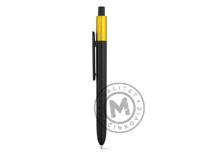 abs-ball-pen-with-glossy-finish-kiwu-metallic-yellow