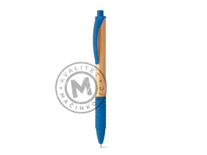 hemijska-olovka-od-bambusa-kuma-rojal-plava