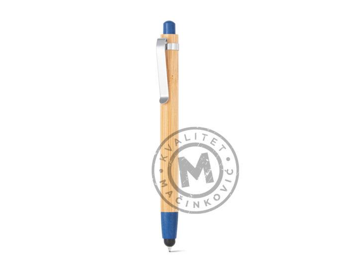 hemijska-olovka-od-bambusa-sa-touch-vrhom-benjamin-rojal-plava