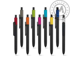 Hemijska olovka od sjajne ABS plastike, Kiwu Metallic