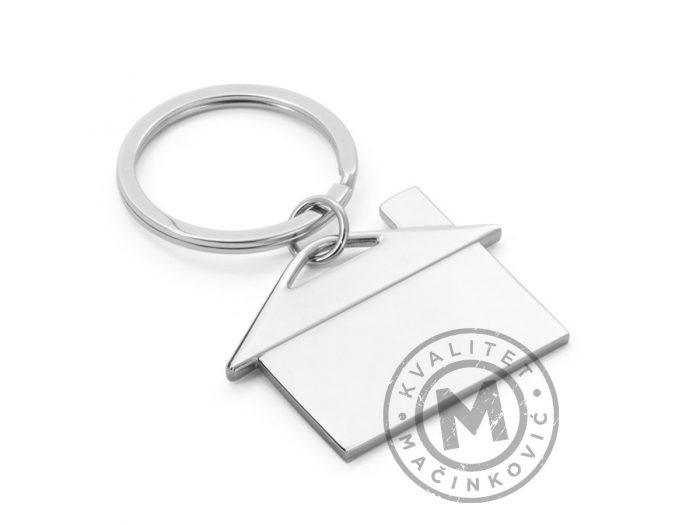 house-shaped-keyring-ulrich-silver
