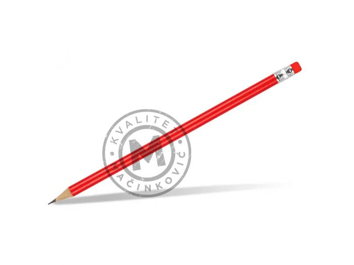 drvena-olovka-hb-sa-gumicom-pigment-crvena