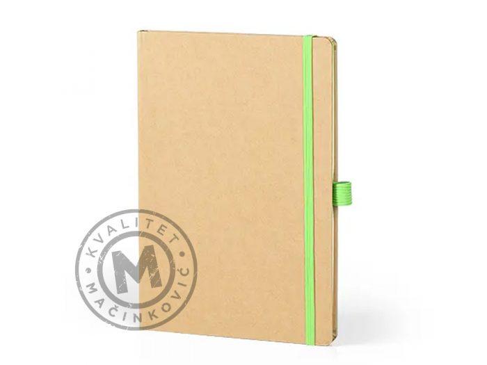 notebook-a5-forest-light-green