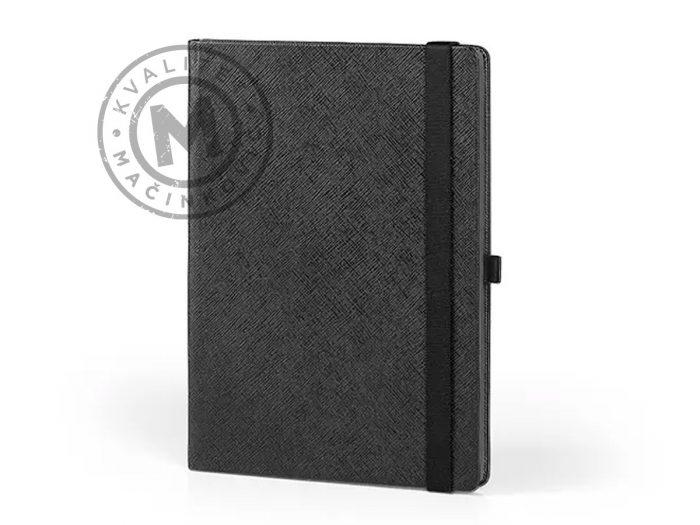 notes-B5-sa-drzacem-za-olovku-alicante-B5-crna