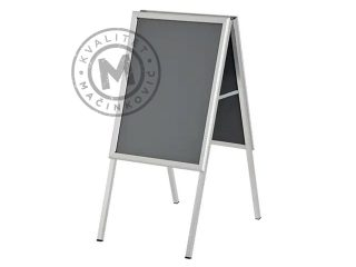 Aluminum poster stand, A-Board A1
