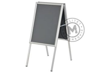 Aluminum poster stand, A-Board B1