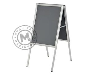 Aluminum poster stand, A-Board B2
