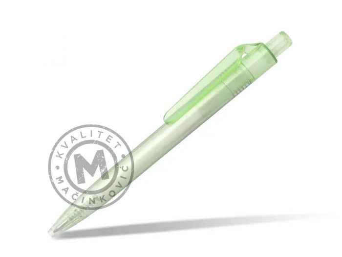 rpet-plasticna-hemijska-olovka-ariel-rpet-svetlo-zelena