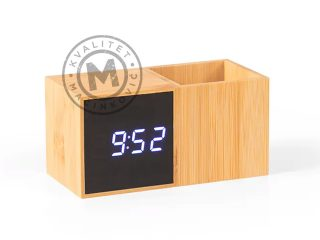 Digital desktop LCD clock, Grid