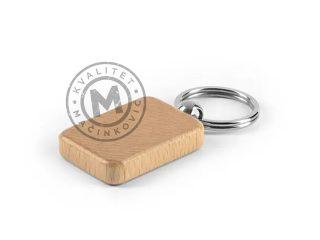 Drveni privezak za ključeve, Rustic