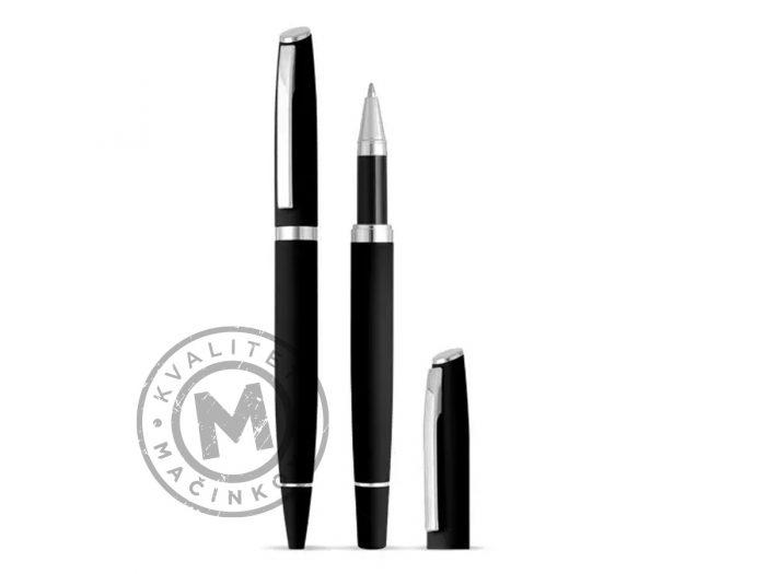 metal-ball-pen-and-roller-pen-set-astra-plus-black