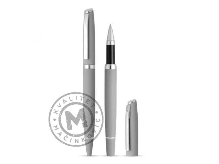 metal-ball-pen-and-roller-pen-set-astra-plus-gray